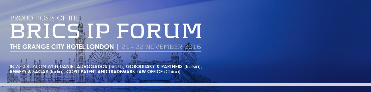 BRICS IP FORUM 2016