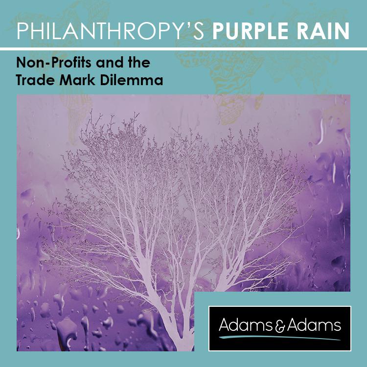 PHILANTHROPY'S PURPLE RAIN