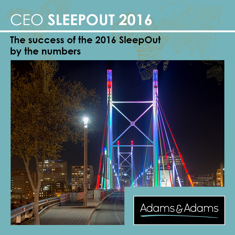 CEO SLEEPOUT™ 2016 SUCCESS BY THE NUMBERS
