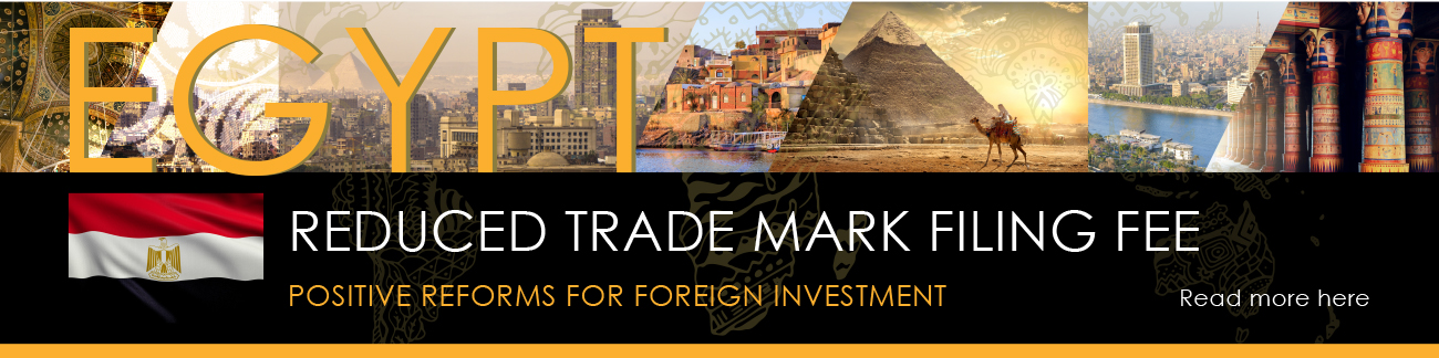 Reduced Trade Mark Fees Egypt
