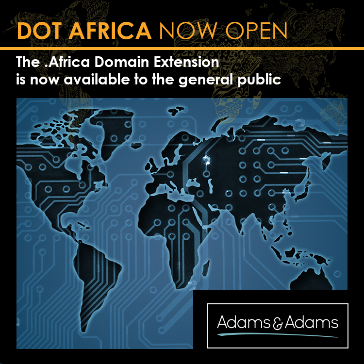 THE LAUNCH OF .AFRICA