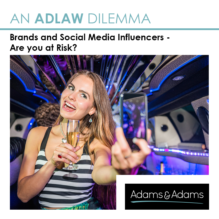 BRANDS & SOCIAL MEDIA INFLUENCERS | ARE YOU AT RISK?