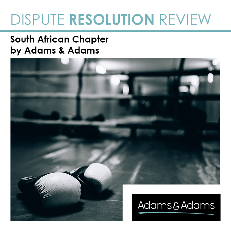 DISPUTE RESOLUTION REVIEW | SOUTH AFRICA