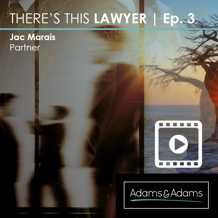 THERE'S THIS LAWYER | JAC MARAIS