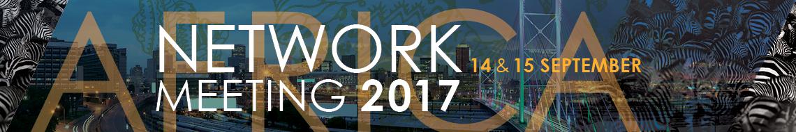 AFRICA NETWORK MEETING 2017 | REGISTRATION