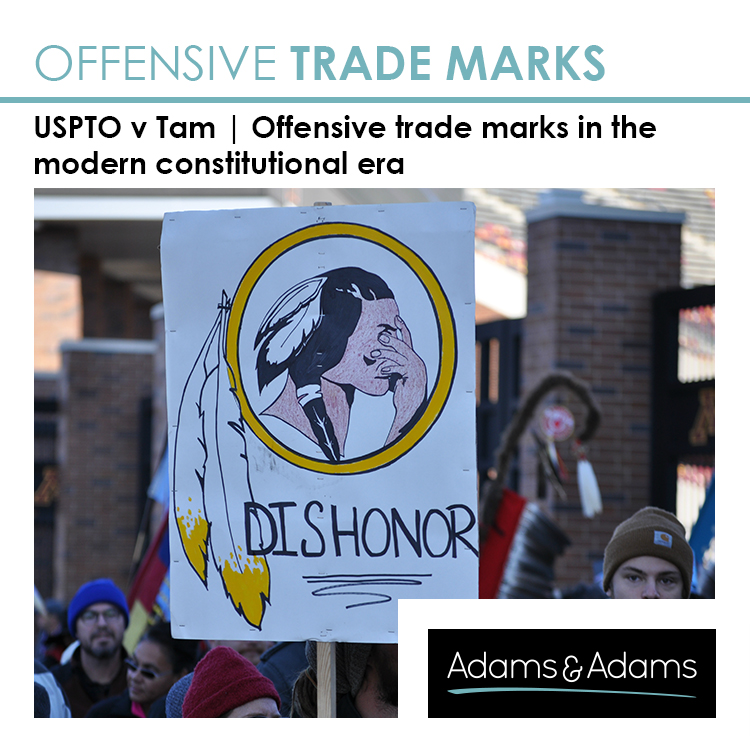 OFFENSIVE TRADE MARKS IN THE MODERN CONSTITUTIONAL ERA OF FREEDOM OF SPEECH & EXPRESSION