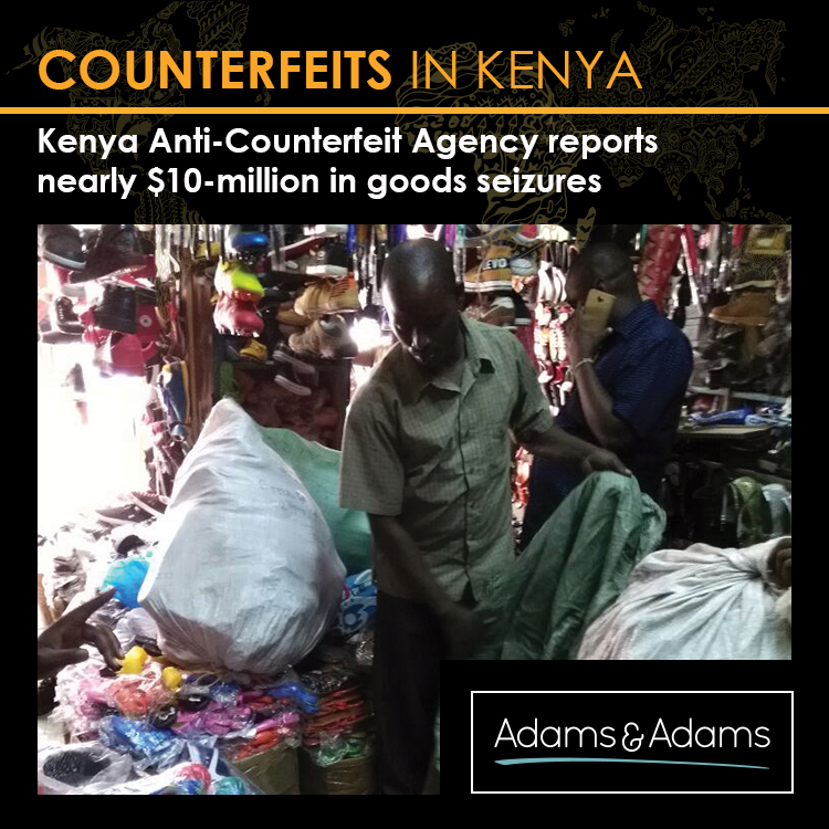 ANTI-COUNTERFEIT EFFORTS REAP SOME REWARD IN KENYA