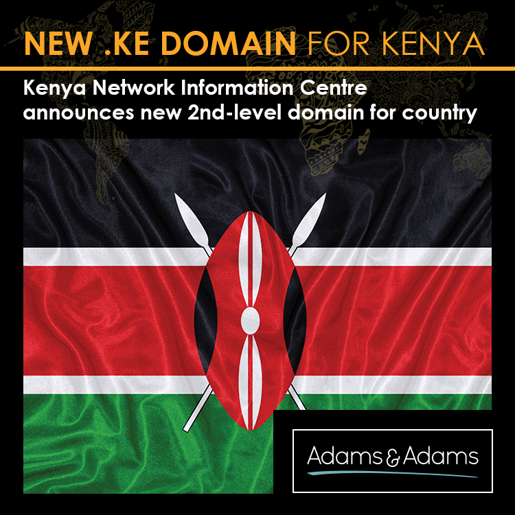 LAUNCH OF SECOND-LEVEL .KE DOMAIN FOR KENYA