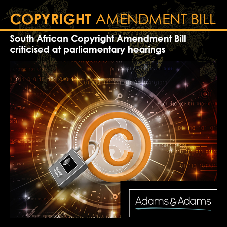 DUBIOUS COPYRIGHT AMENDMENT BILL WILL RESULT IN MORE LITIGATION