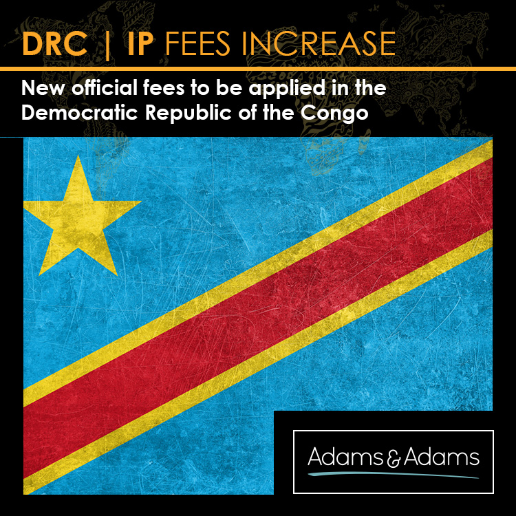 DRC | NEW OFFICIAL IP FEES APPLIED FROM 11 NOVEMBER 2017