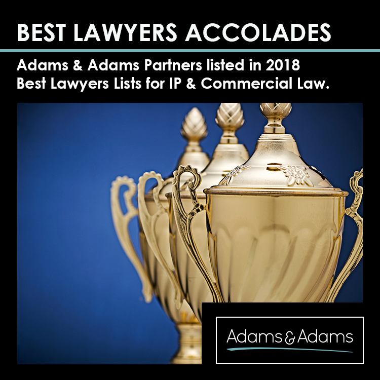 BEST LAWYERS® | ADAMS & ADAMS NAMED IP LAW FIRM OF THE YEAR IN SA