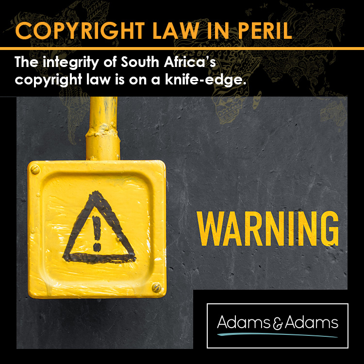 SOUTH AFRICA'S COPYRIGHT LAW IS ON A KNIFE-EDGE
