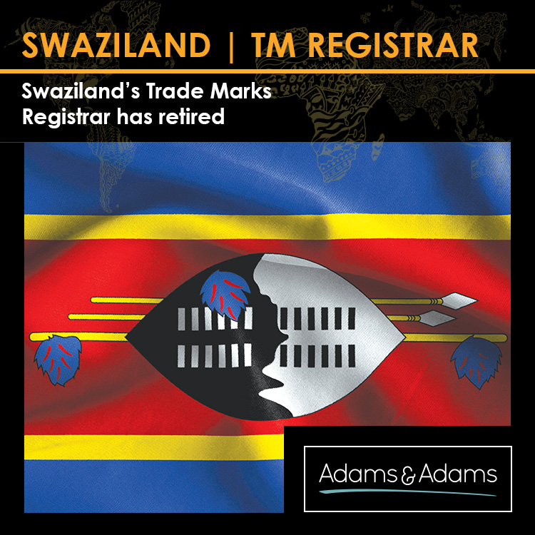 SWAZILAND - TRADE MARKS REGISTRAR RETIRES