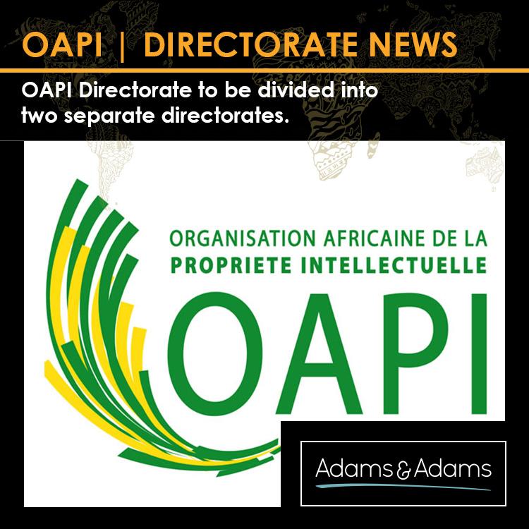 OAPI   SPLIT IN IP DIRECTORATE IMMINENT