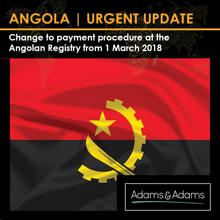 ANGOLA | UPDATE ON REGISTRY PAYMENT PROCEDURES