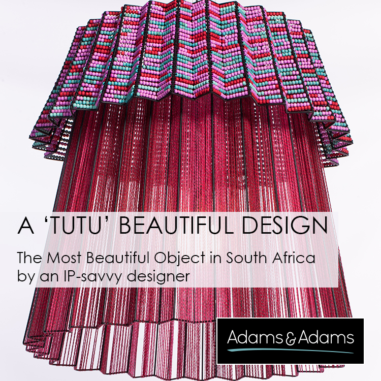 A 'TUTU' BEAUTIFUL DESIGN BY AN IP-SAVVY DESIGNER