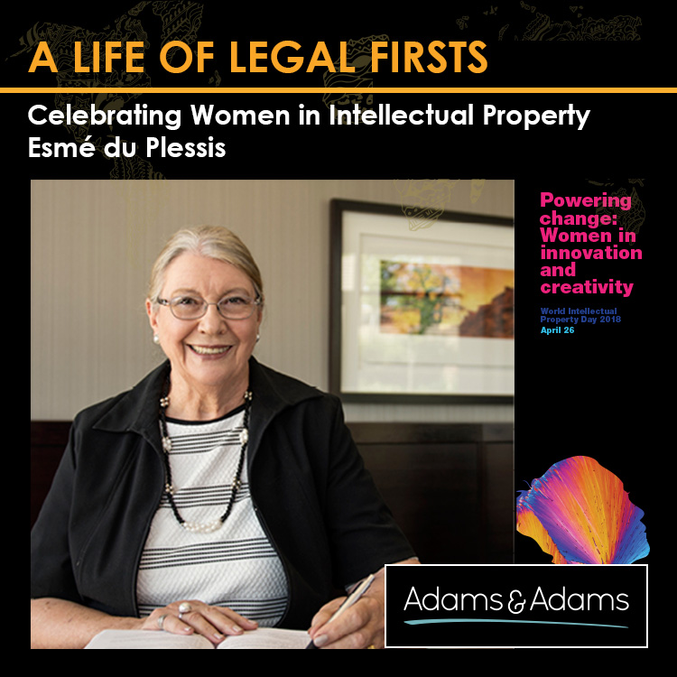 A LIFE OF LEGAL FIRSTS | ESMé DU PLESSIS