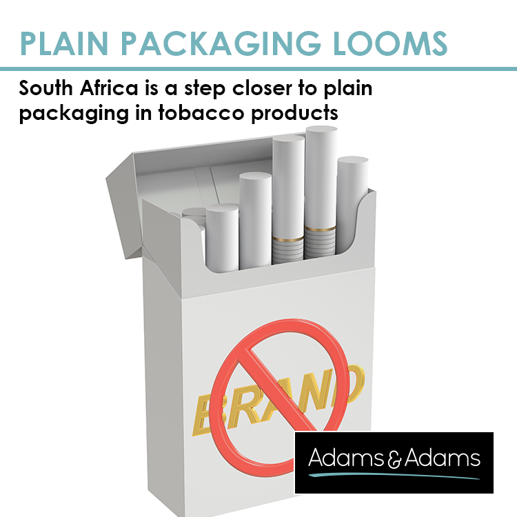 SOUTH AFRICA A STEP CLOSER TO PLAIN PACKAGING TOBACCO PRODUCTS
