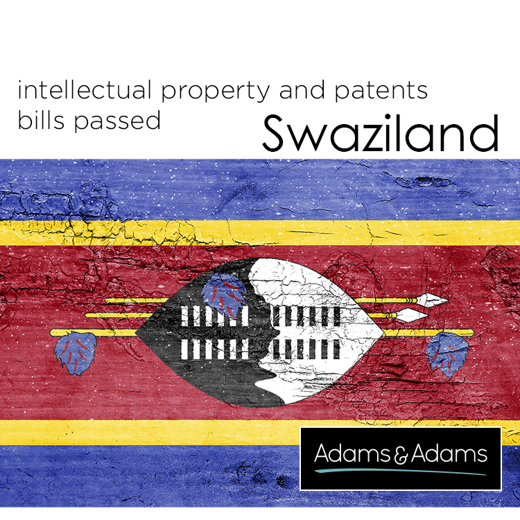 SWAZILAND | IP AND PATENT BILLS PASSED