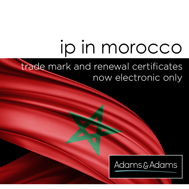 MOROCCO | REGISTRATION AND RENEWAL CERTIFICATES NOW ISSUED ELECTRONICALLY