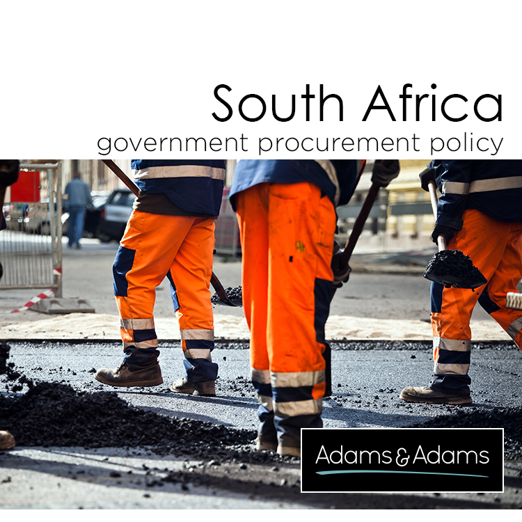 RECENT DEVELOPMENTS IN GOVERNMENT PROCUREMENT POLICY IN SOUTH AFRICA