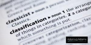 OAPI Goods classification