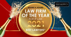 Law firm of the year IP Law firm 2021
