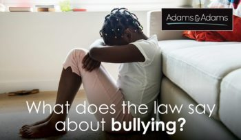 what does the law say about bullying